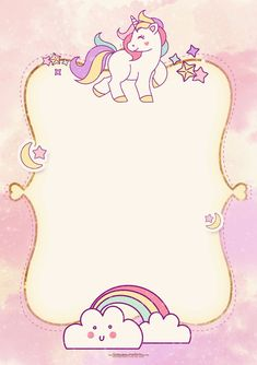 Unicorn invitation is being hit right now! If you want to celebrate your dotter, or your invitation using Unicorn Birthday Invitations, Unicorn Birthday Parties, Baby Shower Invitations, Girl Birthday, Printable Birthday Invitations, Birthday Design, Free Invitation Templates, Templates Free, Design Templates