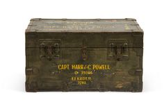 1940s Military Trunk on One Kings Lane today