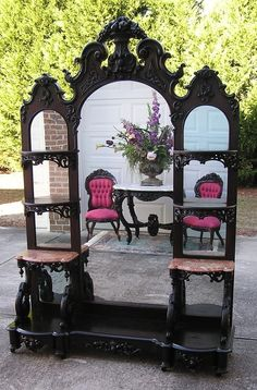 victorian furniture Black-and-white Home Furniture Trends