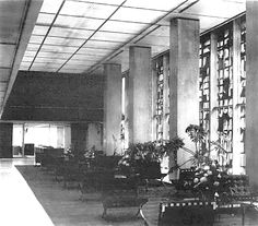 Vista interior de las oficinas quinto piso del arquitecto for Sanborns centro df
