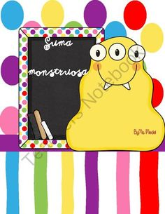 monster addition/la suma monstruosa from Tell me.I forget.Show me.I remember.Involve me,I understand. on TeachersNotebook.com (9 pages)