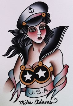 Mike Adams Tattoo Flash | KYSA #ink #design #tattoo
