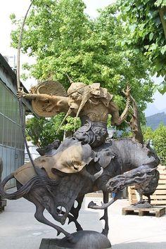 Удивительные скульптуры Даши Намдакова