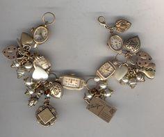 B'Sue Boutique Inspiration watchface charm bracelet