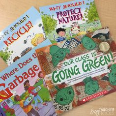 "I am going to share a few of my favorite ""Protecting Mother Nature"" books and some activities that you can do in your class for Earth Day. 2nd Grade Teacher, 2nd Grade Classroom, Primary Classroom, Preschool Kindergarten, Easy Science, Science Experiments Kids, Science Lessons, Tears Art, Beach Clean Up"