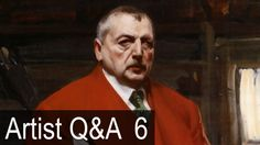 The Zorn Limited Palette & more – Ep.6 Oil Painting Q&A with Mark Carder - YouTube