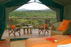 Rhotia Valley Tented Lodges in Tanzania gives support to Rhotia Valley Children's Home which houses children of the local community who don't have family to take proper care of them.