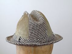1960s Stetson Fedora / 60s Mens Hat / Mens by WearAreTheyNow