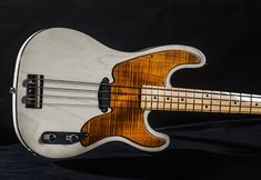 "Memphis Guitar Spa Custom ""Milk White"" Tele Bass"