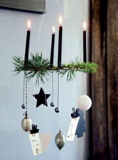 Snart kommer den hyggelige adventstid, og vi har lavet fire smukke bud på dekorationer. Find den, der passer bedst til dit hjem – og din tålmodighed. Bonus: Alle løsninger er nemme at lave!