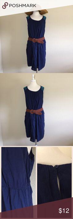 Spotted while shopping on Poshmark: Old Navy Lightweight Navy Blue Dress Sz XXL! #poshmark #fashion #shopping #style #Old Navy #Dresses & Skirts