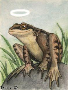 Holy frog by *IsisMasshiro on deviantART