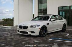 BMW F10 M5 white