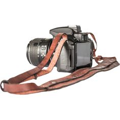 Camera Strap Atitlan Leather (77 RON) ❤ liked on Polyvore featuring accessories and tech accessories