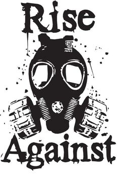 Rise Against Graphic I made in class