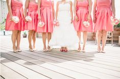 Best photos with your best girls! Photography: iFloyd Photography. See more pink-spiration http://modernweddingshawaii.com/real-wedding-cindy-oliver/