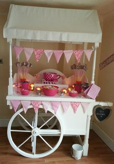 Princess Birthday Candy Cart