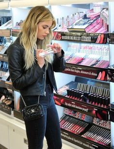 Ashley Benson Fashion Style - March 21, 2016 - Buxom Cosmetics at Ulta Beauty in LA