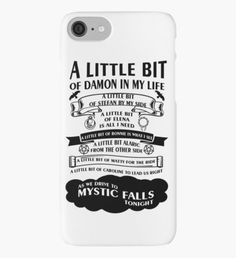 #TVD The Vampire Diaries, not bad..not bad' it's a pretty good quote to have on a phone case.