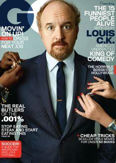 Louis C.K. para GQ USA Mayo 2014 | Male Fashion Trends