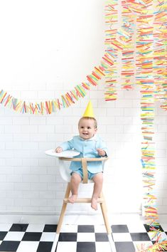 Rainbow Paper Mobile DIY   Oh Happy Day!