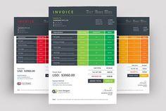 Clean Invoice by Creative Idea on @creativemarket