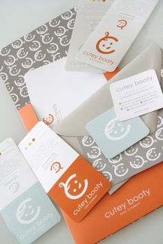 Cutey Booty by Stitch Design Co. , via Behance