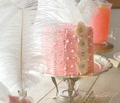 """Photo 2 of 38: Vintage Pink and White Dessert Party / Birthday """"Alice's 1st Birthday"""" 