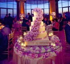 Es Tendencia el color púrpura o violeta en las bodas de otoño