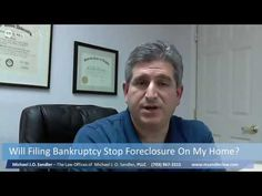 Will Filing Bankruptcy Stop Foreclosure