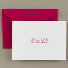 Williamson Letterpress Note Cards