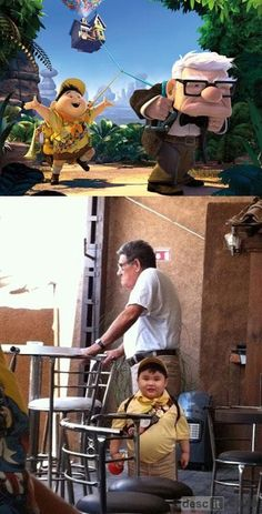 """""""Up"""" in real life"""