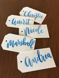 The Ginger Pen Lettering Studio - hand lettering, calligraphy, modern calligraphy, brush calligraphy, brush lettering Brush Lettering, Hand Lettering, Addressing Envelopes, Modern Calligraphy, Note Cards, Gift Tags, Studio, Projects, Gifts