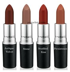 MAC: Matte Lipstick Collection 2015