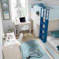 bunk bed for child - custom bunk beds - - Kids Bedroom Designs, Bunk Bed Designs, Bedroom Ideas, Boy And Girl Shared Bedroom, Girls Bedroom, Custom Bunk Beds, Bed Nook, Bedroom Dimensions, Man Room