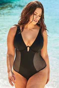 f062f6a0a2a61 1448 Best Plus Size Swimwear images in 2019 | Plus size swimsuits ...