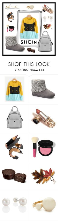 """shein"" by hodzicalena ❤ liked on Polyvore featuring WALL, SONOMA Goods for Life, Bobbi Brown Cosmetics, Anne Klein and Kate Spade"