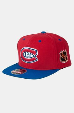 American Needle  Montreal Canadiens - Blockhead  Snapback Hockey Cap  available at  Nordstrom Montreal 5892262eeaf5
