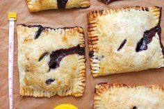 Cherry Pocket Pies. Yes!