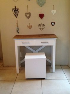 Our latest creation. A small dressing table