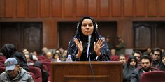 DUBAI, Oct 25 (Reuters) - A 26-year-old Iranian woman convicted of murdering a man she accused of trying to rape her as a teenager was hanged on Saturday, the official news agency IRNA said, despite international pleas for her life to be spared.  R...