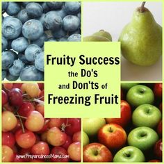 Properly frozen fruit will last at least one year. It makes a great addition to your food storage plan and is healthier because you control the ingredients.