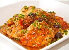 French Chicken Provencal