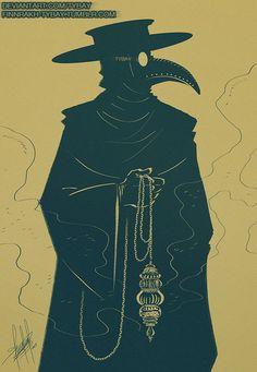 Pomander by Tybay on DeviantArt Black Plague Doctor, Plague Doctor Mask, Plague Dr, Plauge Doctor, Black Death, Bird Masks, Dark Art Drawings, Arte Horror, Grim Reaper