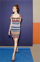Get noticed graphic dress