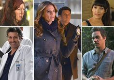 Ask Ausiello: Spoilers on Castle, Once, Arrow, Grey's, Glee, New Girl, True Blood and More