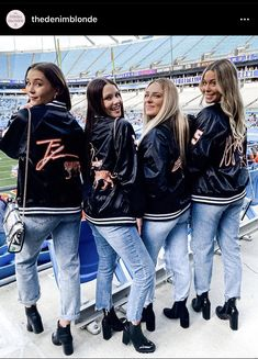Hockey Outfits, Adidas Jacket, Bomber Jacket, Lust For Life, Girl Gang, Photo And Video, Denim, Jackets, Instagram