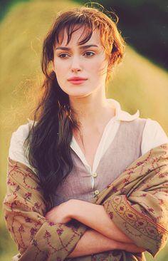 Keira Knightley as Elizabeth Bennett