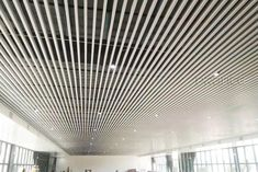 Aluminum Square Tube Ceiling is a popular ceiling material in recent years. Its neat lines, simple installation and well-defined decoration style have become one of the main products of ceiling materials in recent years. Baffle Ceiling, Metal Ceiling, Ceiling Materials, Air Conditioning System, Building Exterior, Ceiling Decor, Can Design, Visual Effects, Bending