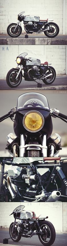 MOTO GUZZI LE MANS BY 4H10 http://www.bikeexif.com/custom-moto-guzzi-le-mans